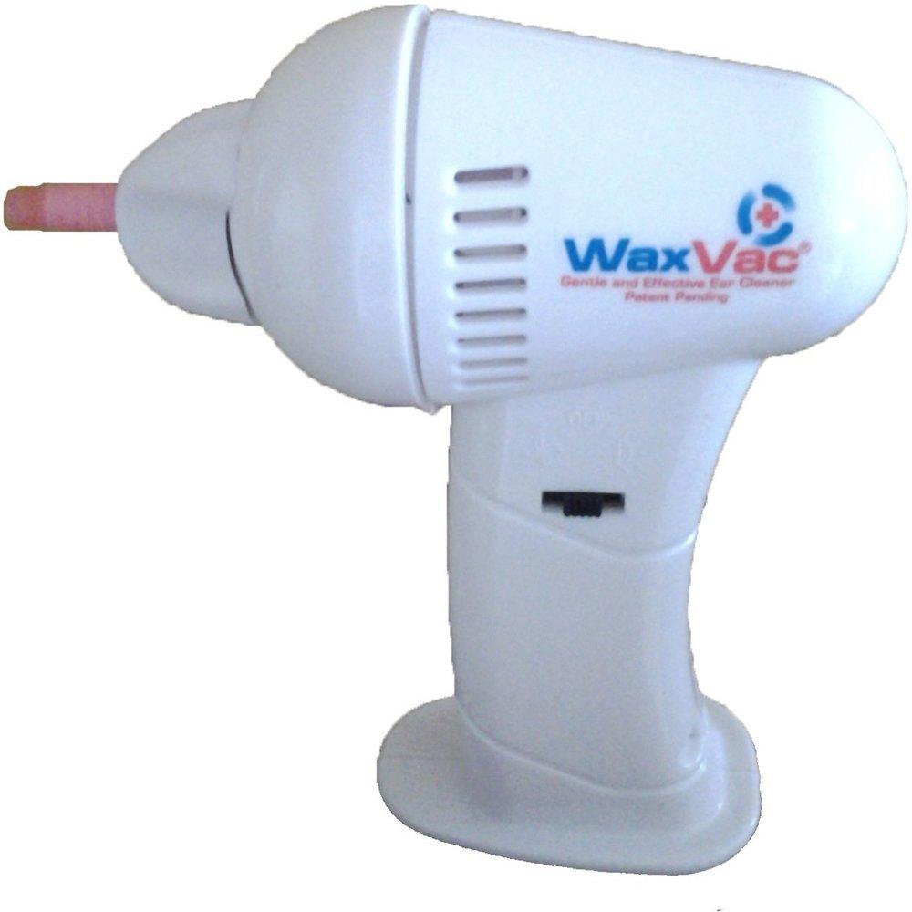 WAX VAC - Aspirador para limpiar los oídos de la nariz con ...