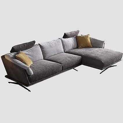 Amazon.com: DNNAL Fabric Sofa Modern Large Sectional Sofa ...