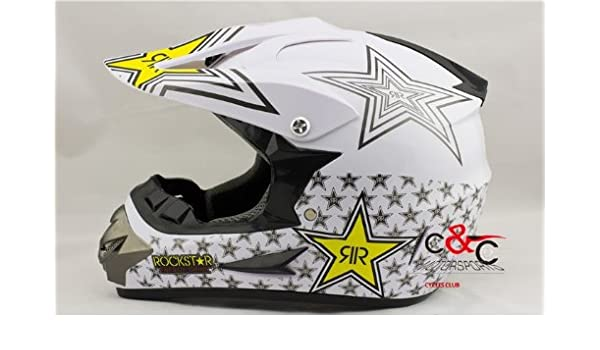 Amazon.com : casco capacete the OFF ROAD MOTORCYCLE HELMET moto DIRT BIKE MOTOCROSS racing Helmet GHOST CLAW DOT helmet : Sports & Outdoors