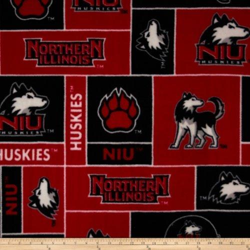 Northern Illinois Huskies Fleece Fabric ()