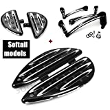 Floorboards For harley softail brake arm lever softail heritage passenger FootBoard softail deluxe Toe Heel Shift Lever pedal harley softail breakout (00-16 softail comb sets)