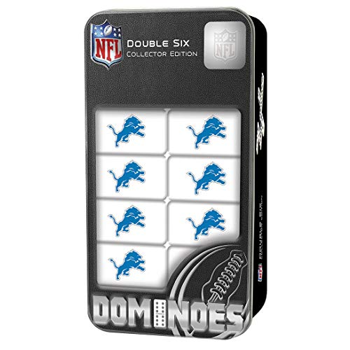 MasterPieces NFL Detroit Lions Double-Six Dominoes