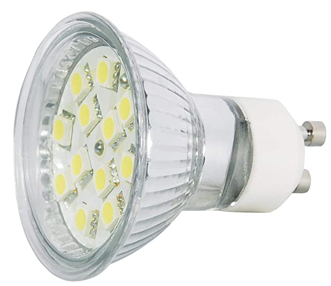 Transmedia LP6-3CL - Bombilla LED, 3 W, temperatura de color 6000 k