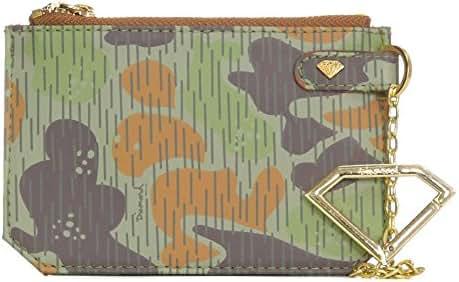 Diamond Supply Co. Men's Rainfrog Camo XL Coin Pouch