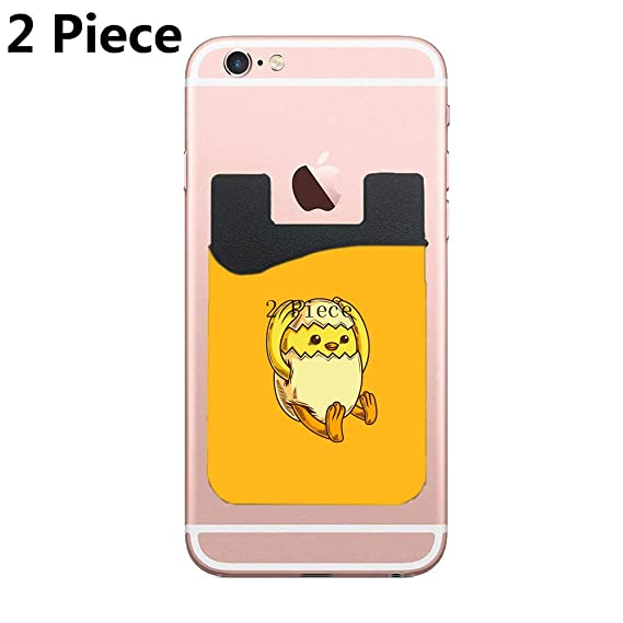 Amazon com: Two Forced Hatch Cell Phone Stick on Wallet Card Holder