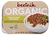 Beetnik Foods Organic Gf Grass Fed Beef Meatballs, 11.5 Ounce (Pack of 08)