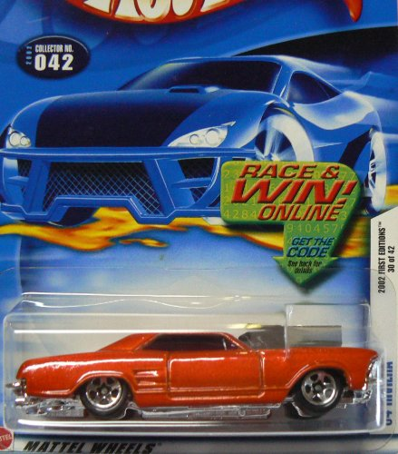 Hot Wheels First Editions #32 2002-042 '64 (1964) Red for sale  Delivered anywhere in USA