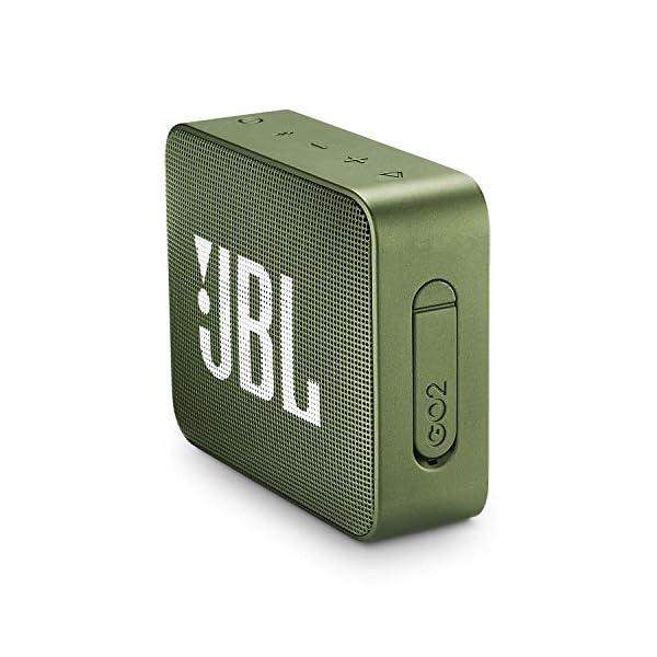 JBL Go 2 - Mini enceinte Bluetooth Portable - Étanche pour Piscine & Plage Ipx7 - Autonomie 5hrs - Qualité Audio JBL - Vert 3