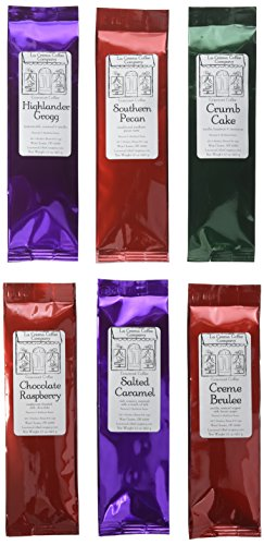 La Crema Coffee Gourmet Flavored Coffee 6 Piece Sampler Pack ()