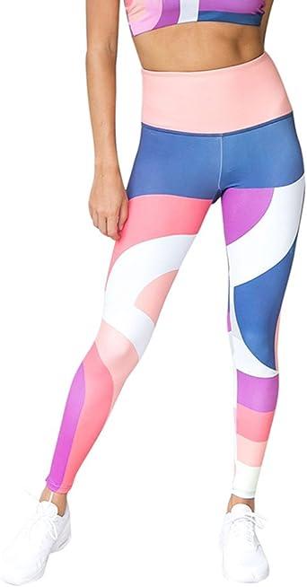 Pantalones Yoga Mujeres Mallas Deportivas Mujer Impresión ...