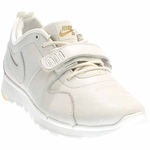 Nike Trainerendor Prem Mens Trainers 812975 Sneakers Shoes (US 9, Blanco /  Dorado /
