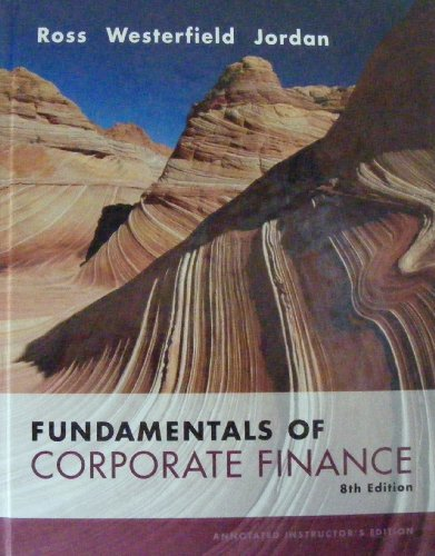 fundamentals of corporate finance 9th edition solutions manual pdf