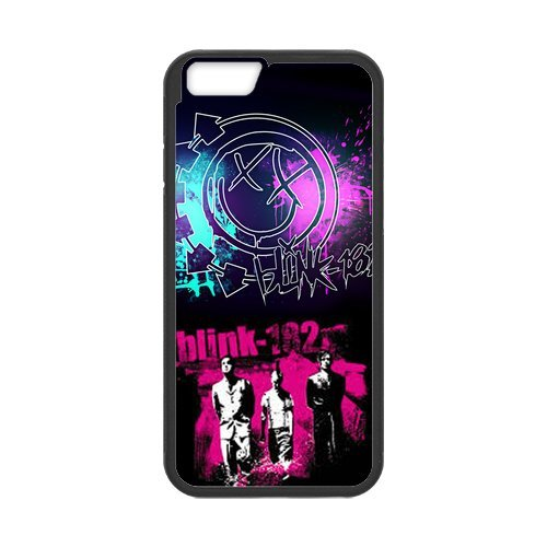 "Fayruz - iPhone 6 Rubber Cases, Blink 182 Hard Phone Cover for iPhone 6 4.7"" F-i5G349"
