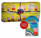 Peppa Pig Option 2 Pass The Parcel Party Game - Hand Made - 8 to 25 layer options available (15 Layers) by Parties Wrapped Up