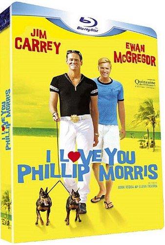 I Love You Phillip Morris Blu-Ray (Region A) (NTSC) Hong Kong Version - Jim Carrey, Ewan McGregor