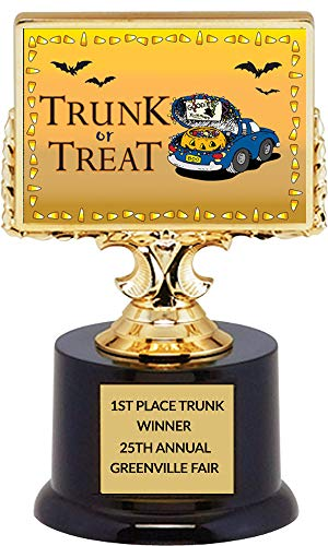 Trunk Or Treats (Trunk or Treat Halloween Trophy with Free)
