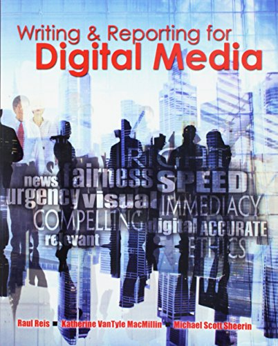 Writing and Reporting for Digital Media