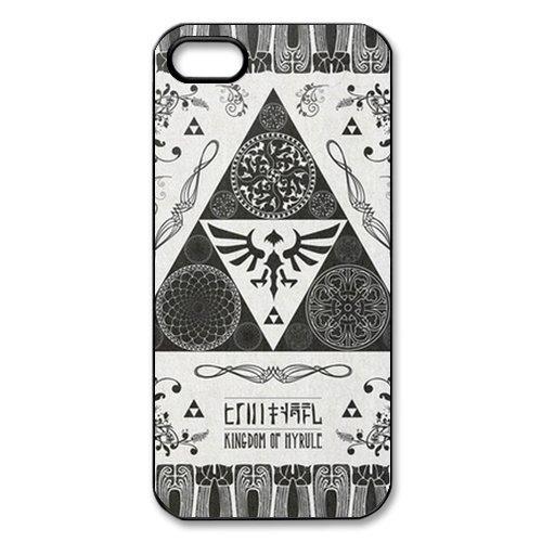 Coque iPhone 5S,Accessoires Coque de Protection Téléphone The Legend of Zelda TPU Etui Housse Arrière pour iPhone 5 5S,iPhone 5S Silicone Coque Housse Case