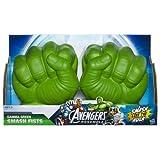 Marvel Avengers Assemble Hulk Gamma Green Smash Fists