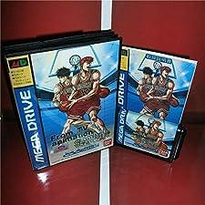 16 Bit Sega MD Game - From TV Animation Slam Dunk - Kyougou Makkou Taiketsu! Japan Cover with Box and Manual(Chinese) for MD MegaDrive Game Console - Sega Genniess , Sega Ninento , Sega Mega Drive