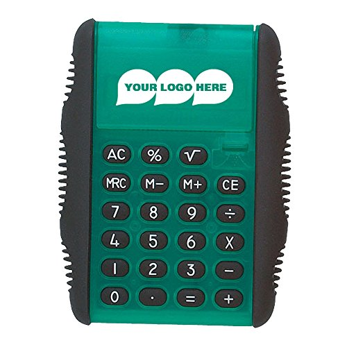 Flip Calculator - 100 Quantity - $1.79 Each - PROMOTIONAL PRODUCT / BULK / BRANDED with YOUR LOGO / CUSTOMIZED by CloseoutPromo