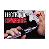 Best Electronic Cigarettes - Electronic Cigarettes #1 Indoor Store Sign Vinyl Decal Review