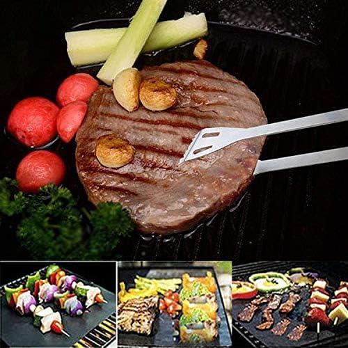 SODIAL Outils de Barbecue, Accessoires de Grillade, Ustensiles de Barbecue en Acier Inoxydable de 16 PièCes, Ensemble de Barbecue pour Pique-Niques, ExtéRieur, FêTes