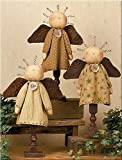 Faith Hope and Love Spindle Angel Set For Sale