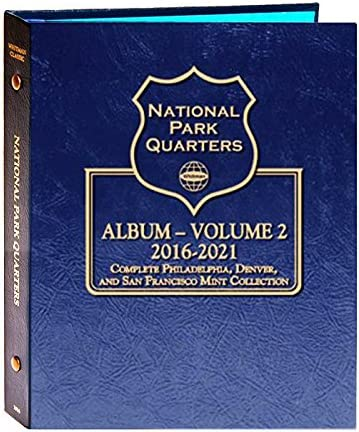 Territorial Quarters Coin Album P /& D 1999-2009 Whitman Classic 2821 Statehood