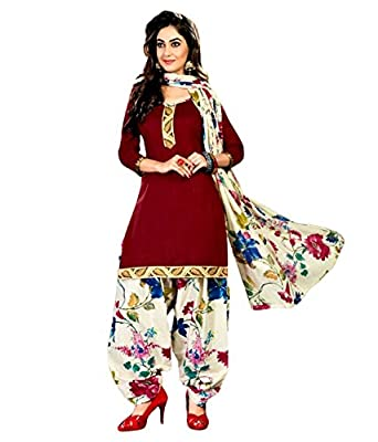 M/S VELLORE Girls cotton unstitched dress material