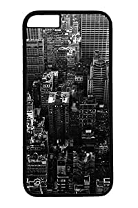 Brian114 New York City Black And White Phone Case for the iPhone 6 Plus Black by lolosakes