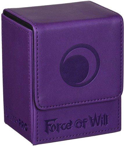 Official Force of Will Dark Element Flip Deck Box