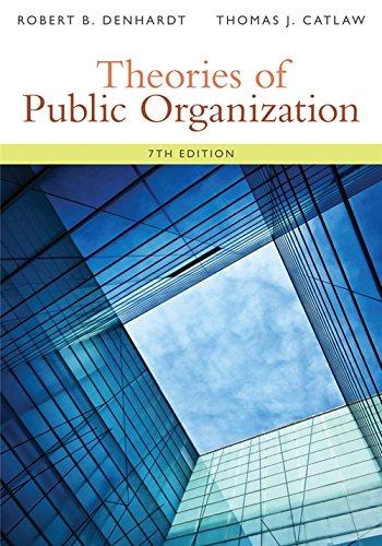 Theories of Public Organization