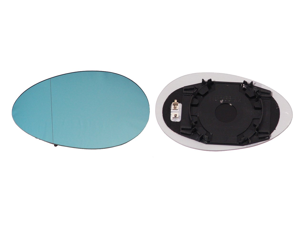 Blue Alkar 6471473 Outside Heated Aspherical Mirror Glass with Holder