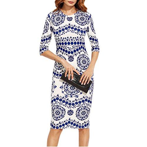 Round Womens Dress - 7