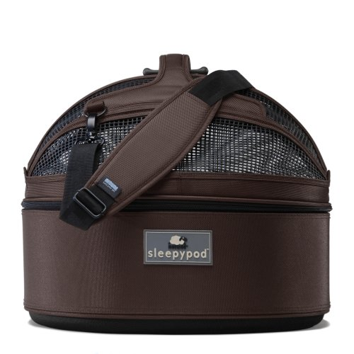Sleepypod Medium Mobile Pet Bed, Dark Chocolate by Sleepypod