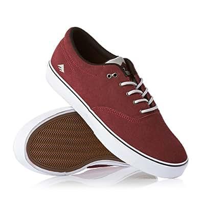 Emerica Men's The Reynolds Cruisers Sneaker 11 Red