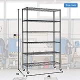 6 Tier Adjustable Wire Metal Shelving
