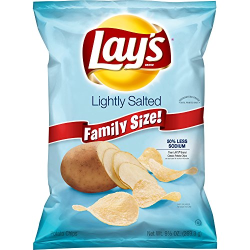 Lay's Lightly Salted Potato Chips, 9.5 (Lightly Salted Chips)