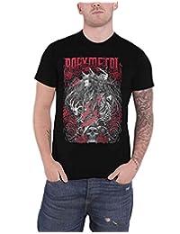 Babymetal T Shirt Rosewolf Band Logo New Official Mens Black