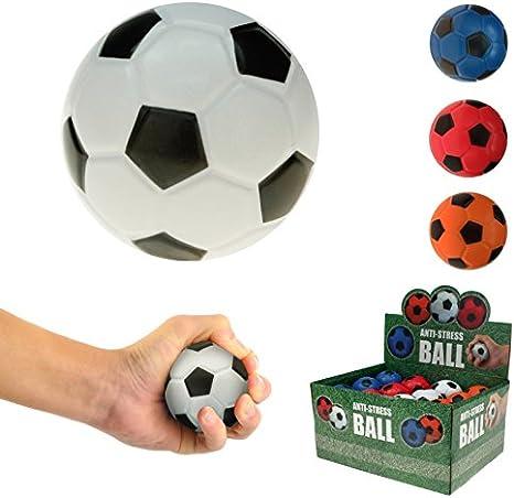wuselwelt 42036WU - Juego de 4 Pelotas de fútbol para amasar (6 cm)