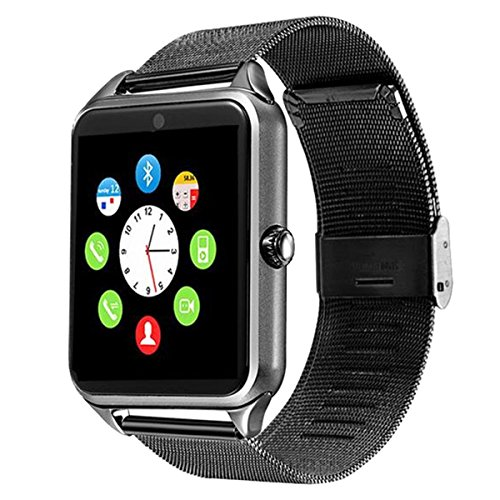 This smartwatch phone is of excellent quality and elegant look. It is very easy to setup and connect to your android. Makes a great gift.