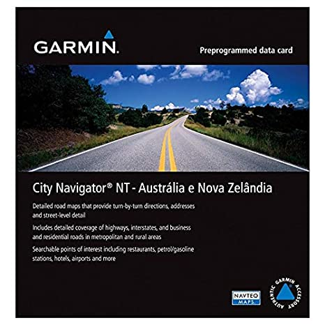 garmin map download new zealand