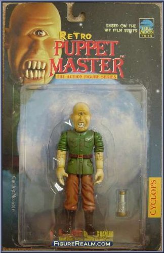 Retro Puppet Master Cyclops in General Outfit By Full Moon Toys ()