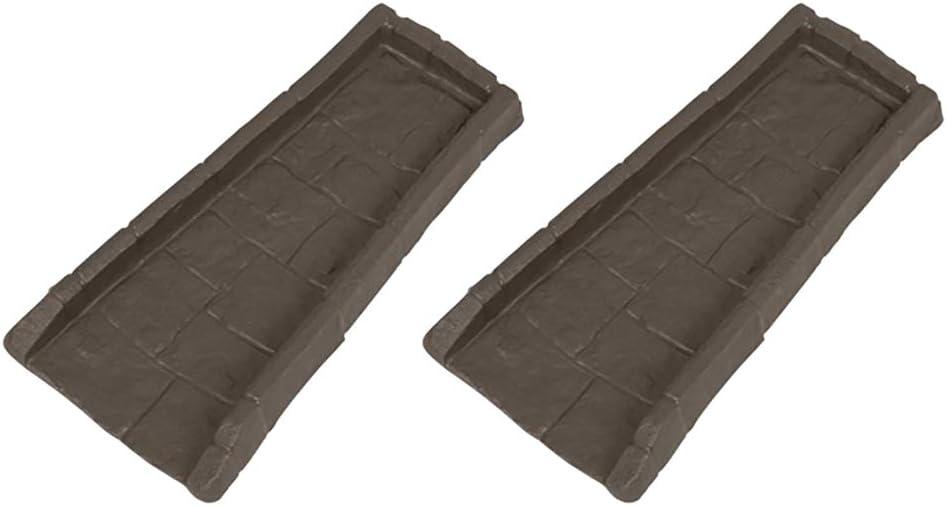 Suncast Home Splash Rain Gutter Drain Block Replacement Guard (2 Pack)
