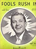 img - for Fools Rush In (Song) Tony Martin on the Cover book / textbook / text book