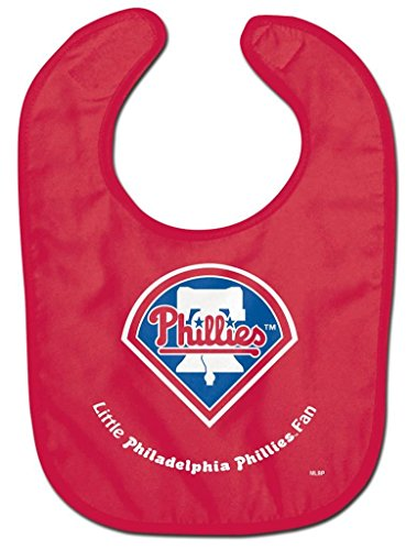 WinCraft MLB Philadelphia Phillies WCRA2018614 All Pro Baby Bib (Phillies Baby Bib)