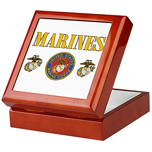 y Marines US Marine Corps Seal (Marine Keepsake Box)