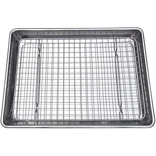 cooking pan with wire rack. Black Bedroom Furniture Sets. Home Design Ideas