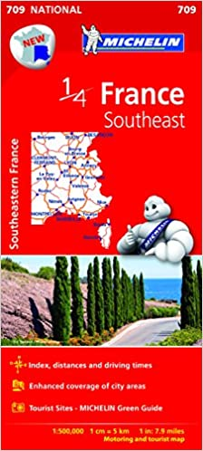 Map Of South East France.Southeast France Map 2015 Michelin Regional Map Michelin